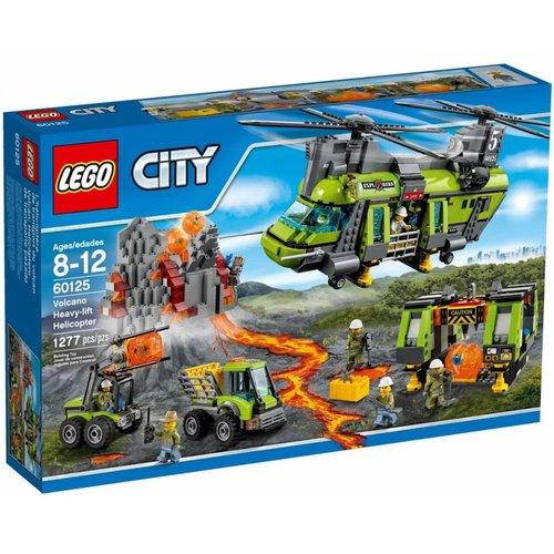 Lego City - 60125 - Vulkaan Zware Vrachthelikopter