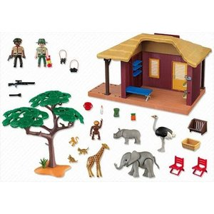 Playmobil Wildlife - 5907 - Safari Hut