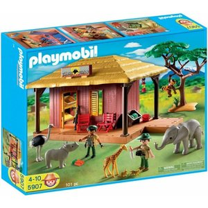 Playmobil Wildlife - 5907 - Safari Hut