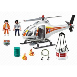 Playmobil City Action - 5542 - Brandbestrijdingshelicopter