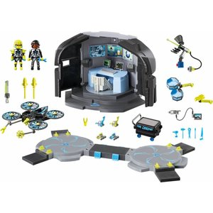 Playmobil Top Agents - 9250 - Dr. Drone's Command Center