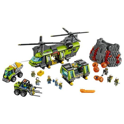 Lego City - 60125 - Volcano Heavy-lift Helicopter