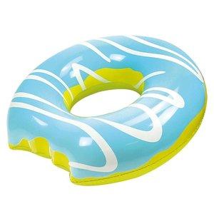 Floating Schwimmring Mega Donut Blue  (119 cm)