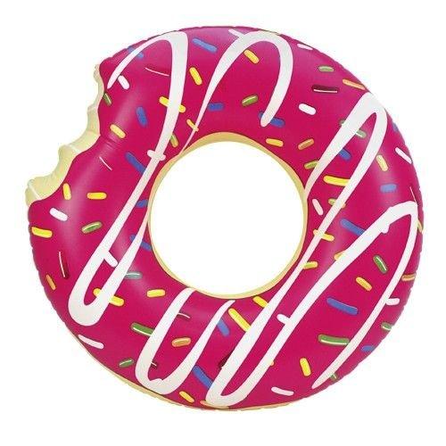Floating Zwemring Mega Donut Roze  (119 cm)