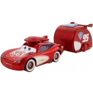 Disney Cars Cruisin' Lightning McQueen & Trailer (Road Trip)
