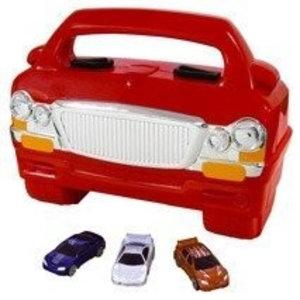 Car Carry Case Rode  Opbergkoffer voor Hotwheels