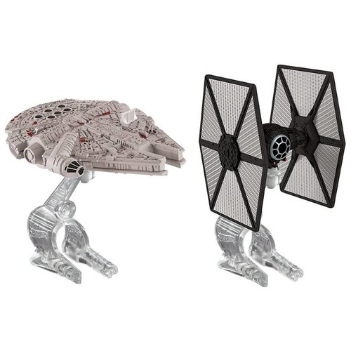 Hot Wheels First Order Tie Fighter vs. Millennium Falcon