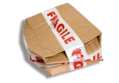 Beschadigde verpakking