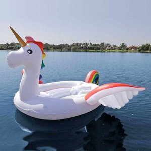 Inflatable Island XXL (6 persons) - Unicorn