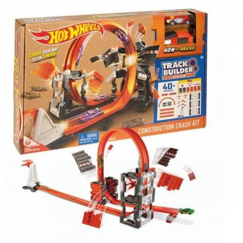Hot Wheels Construction Crash Kit - Track Builder System