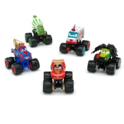 Disney Cars Deluxe Monster Truck Mater Set