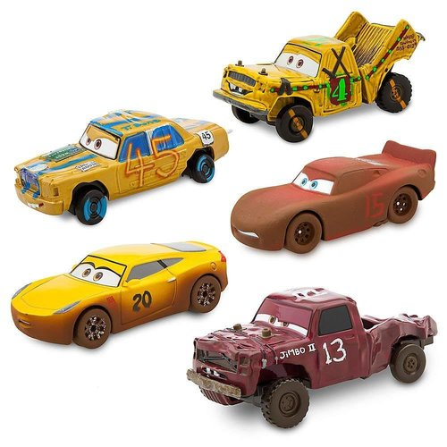 Disney Cars DeLuxe Diecast Gift Set Cars 3  Crazy Cars (5-Pack) (1:43)