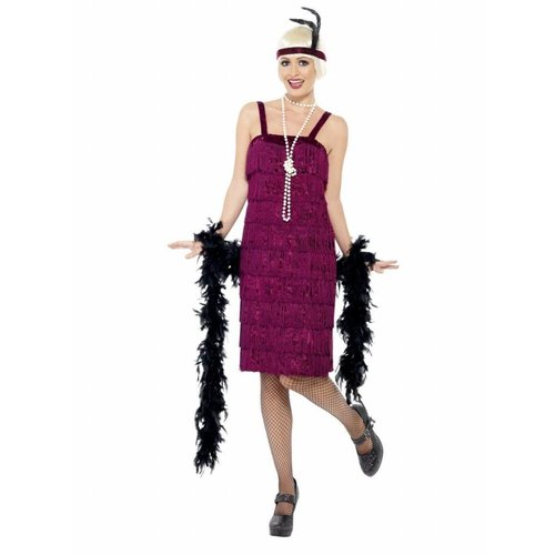 Smiffy's Jaren '20 jurk - Jazz Flapper