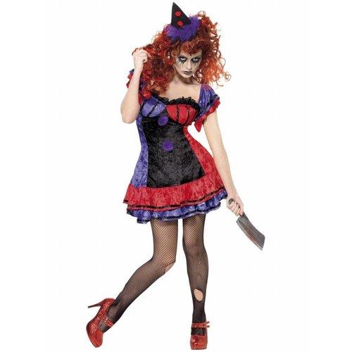 Smiffy's Bo Bo de Clown Horror Clownsjurkje