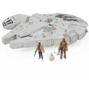 Star Wars Battle Action - Millennium Falcon with Pop Up Nerf Launcher - SALE
