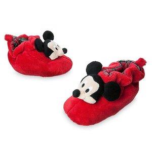 Disney Mickey Mouse Weihnachts Hausschuhe (Größe 16, 0-16 Monate)
