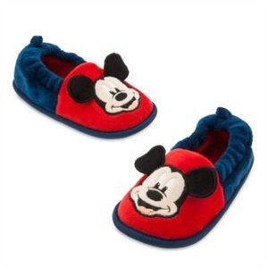 Disney Mickey Mouse Slippers  (Size 23-24)