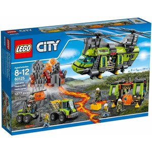 Lego City - 60125 - Volcano Heavy-lift Helicopter - SALE