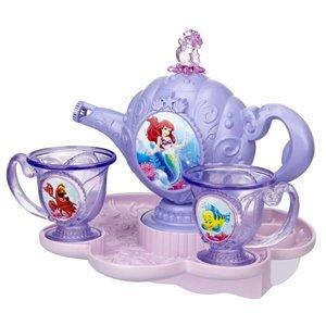 Disney Princess Ariels Bubble Blowing Tea Set