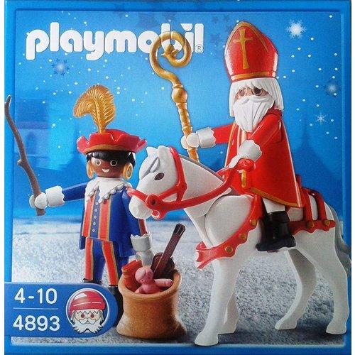 Playmobil 4893 - Sinterklaas en Zwarte Piet