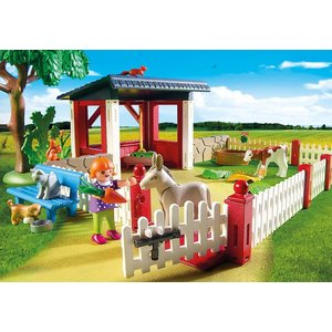 Playmobil City Life - 5529 - Tierarztpraxis mit Gehegen - SALE