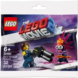 Lego Lego the Movie - 30460 - Rex 's Plantimal Ambush