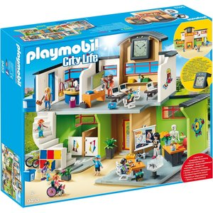 Playmobil City Life - 9453 - Furnished School Building