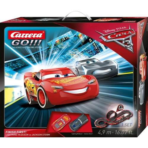 Disney Cars Carrera Go! - Finish First - Ligtning McQueen vs. Jackson Storm