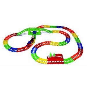 NeoTracks Neo Tracks - Flexible Track Set - Train Set