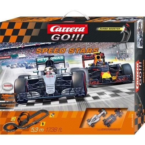Carrera Go! Speed Stars - Lewis Hamilton vs. Max Verstappen Racebaan