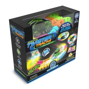 NeoTracks Neon Glow Twister Tracks - Racer Series 221