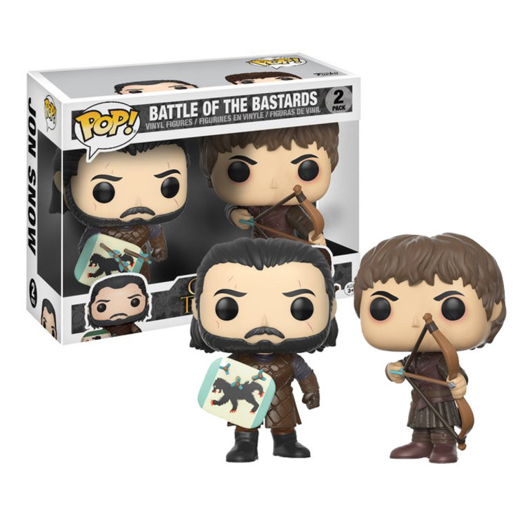 Funko Pop Game Of Thrones Battle Of The Bastards 2 Pack Importtoys