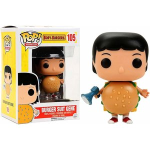 Bob's Burgers Funko Pop - Burger Suit Gene - No. 105