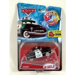 Disney Cars Sheriff (Color Changers)