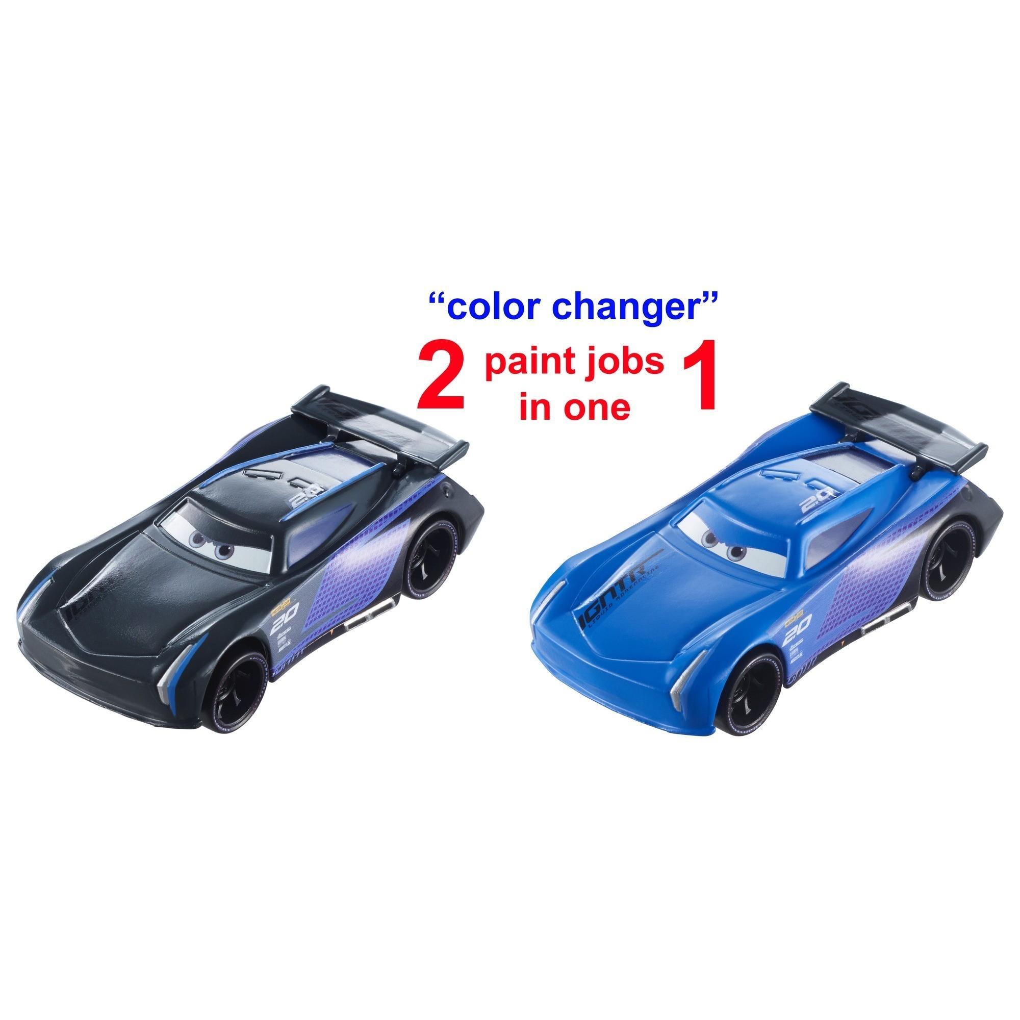 disney pixar cars  jackson storm color changers