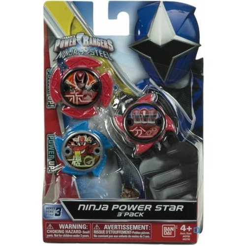 Power Rangers Ninja Power Star 3 Pack  - #43770