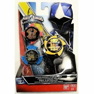 Power Rangers Ninja Power Star 3 Pack  - #43766
