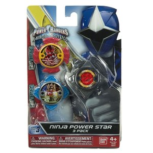 Power Rangers Ninja Power Star 3 Pack  - #43771