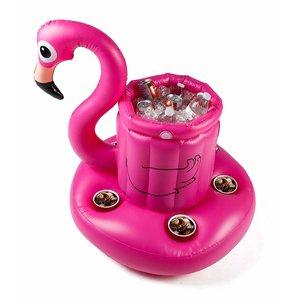 BigMouth Inc. Pink Flamingo - Opblaasbare Flamingo Drijvende Koelbox