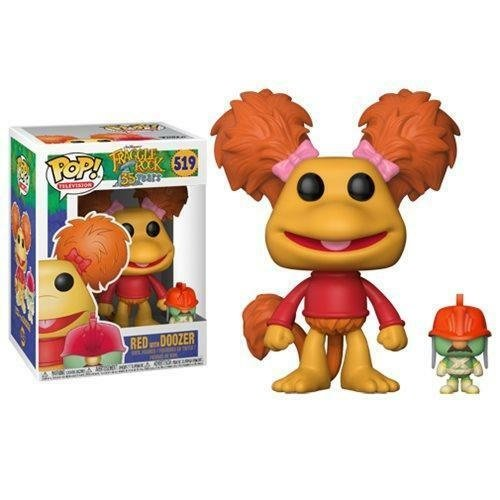 Fraggle Rock Funko Pop - Red with Doozer - No 519