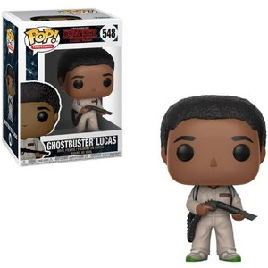 Stranger Things Funko Pop - Ghostbuster Lucas - No 548