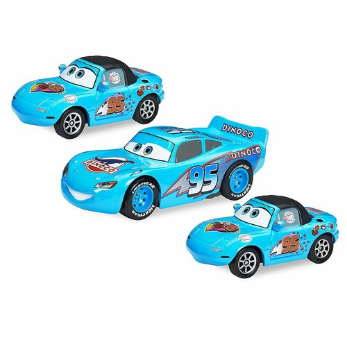 Disney Cars Dinoco Dream - Pull Back Cars - 3 Pack