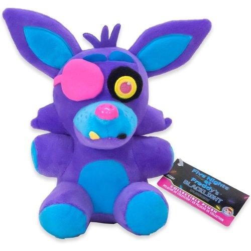 Five Nights at Freddy's Funko Plushies - Foxy Blacklight Purple