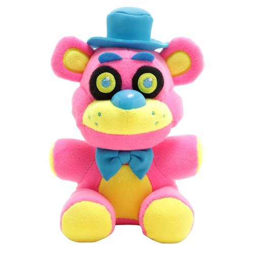 Five Nights at Freddy's Funko Plushies - Freddy Blacklight Pink