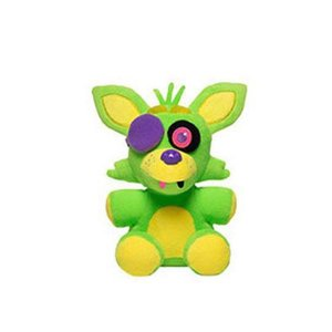 Five Nights at Freddy's Funko Plushies - Foxy Blacklight Green