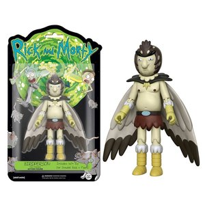 Rick And Morty Funko Action Figure - Birdperson met linkerbeen voor Snowball