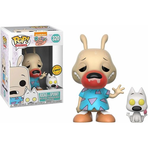 Rocko's Modern Life Funko Pop - Rocko with Spunky - No 320 - CHASE