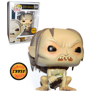 Lord of the rings Funko Pop - Gollum - No 532  - Chase
