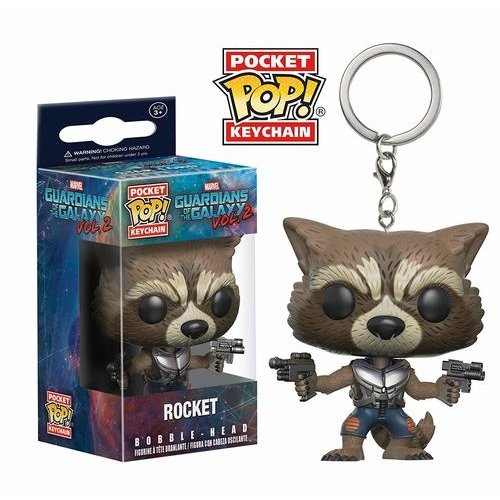 Guardians of the Galaxy Funko Pocket Keychain - Rocket