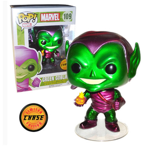 Marvel Funko Pop - Green Goblin - No 109  - CHASE